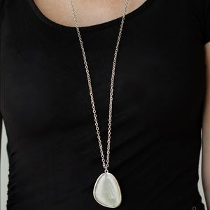Ethereal Experience white necklace